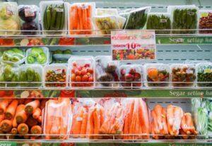 estantería supermercado