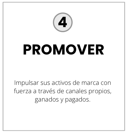 4. Promover
